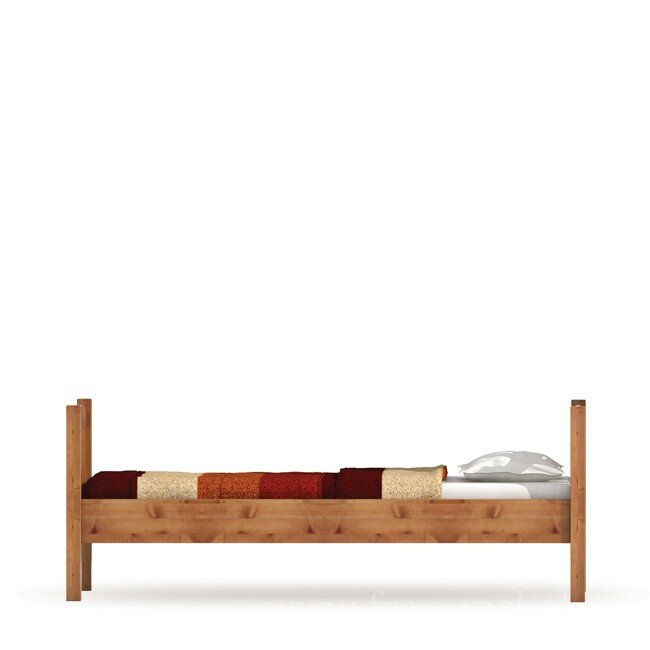 Детская Юниор, Кровать, СВ-108 Юниор Сосна тонированная