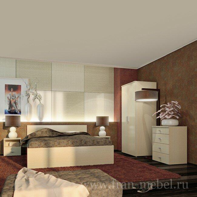 Готовые композиции, Спальня Ода от Fran-mebel