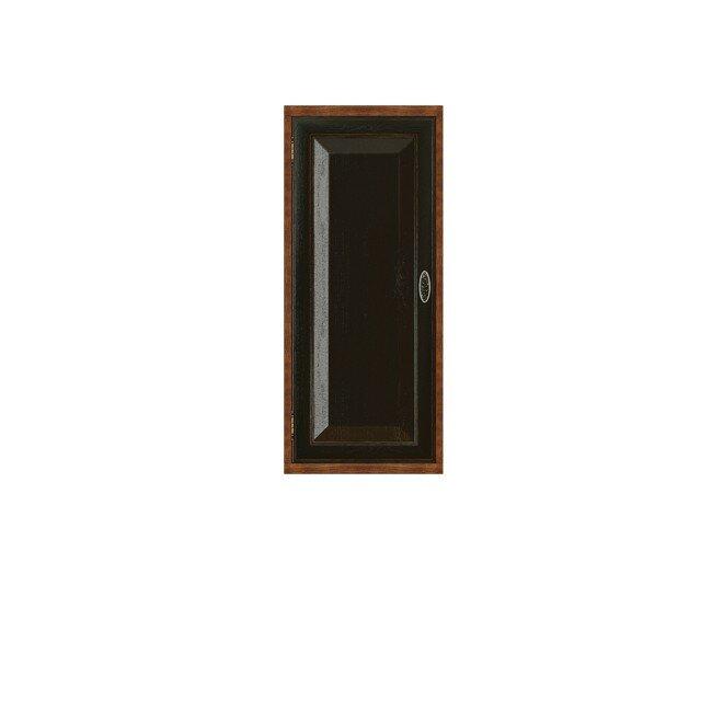 Гостиная Диего, Полка вертикальная, СВ-364 Дуб черныйДуб черный<br>Вертикальная полка из шпона ясеня и дуба. Задняя стенка в цвете: ясень беленый.<br>
