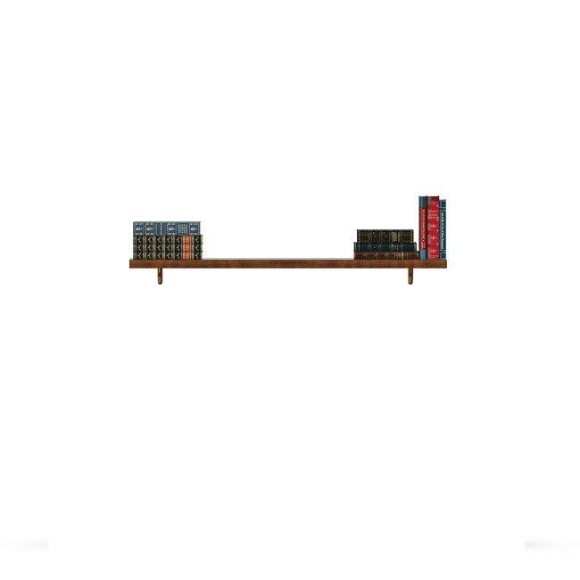 Гостиная Диего (Барокко), Полка открытая СВ-365/1 Диего (Барокко) черныйДуб черный<br>Полка длиной 1200 мм из шпона ясеня. правильно дополнит композицию.<br><br>Цвет корпуса: Ясень тонированный<br>Скидка: None