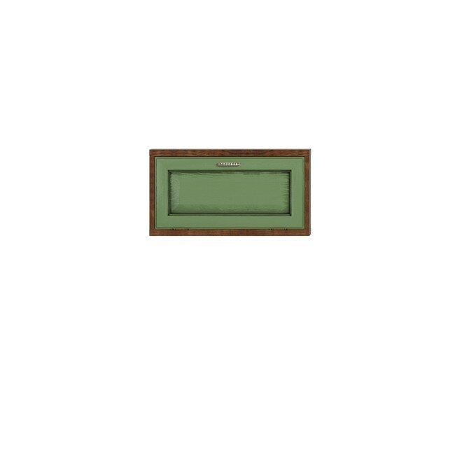 Гостиная Диего (Барокко), Полка горизонтальная СВ-362 Диего (Барокко) зеленыйДуб зеленый<br>Небольшая полка из шпона ясеня и дуба. Задняя стенка в цвете: ясень беленый<br><br>Цвет корпуса: Ясень тонированный<br>Цвет фасада: Дуб зеленый<br>Скидка: 30%