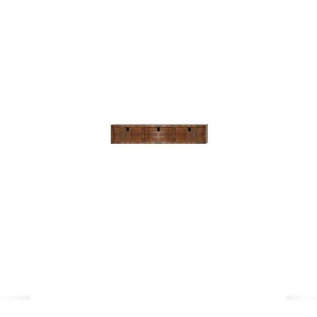 Гостиная Диего, Полка с ящиками, СВ-366 Дуб зеленыйДуб зеленый<br>Небольшая полка из шпона ясеня и дуба с выдвижными ящиками. Днище ящиков в цвете: ясень беленый.<br>