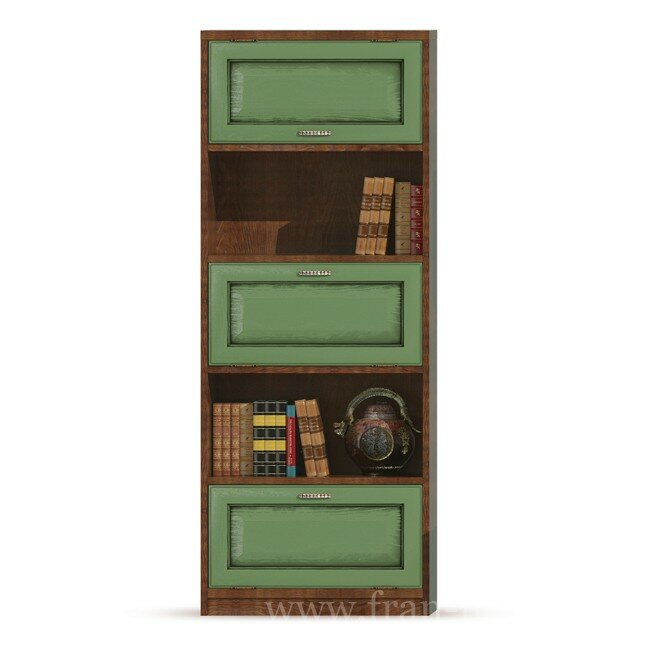 Диего, Стеллаж-бар, СВ-368Дуб зеленый<br>Вместительный стеллаж-бар из шпона ясеня и дуба.<br>
