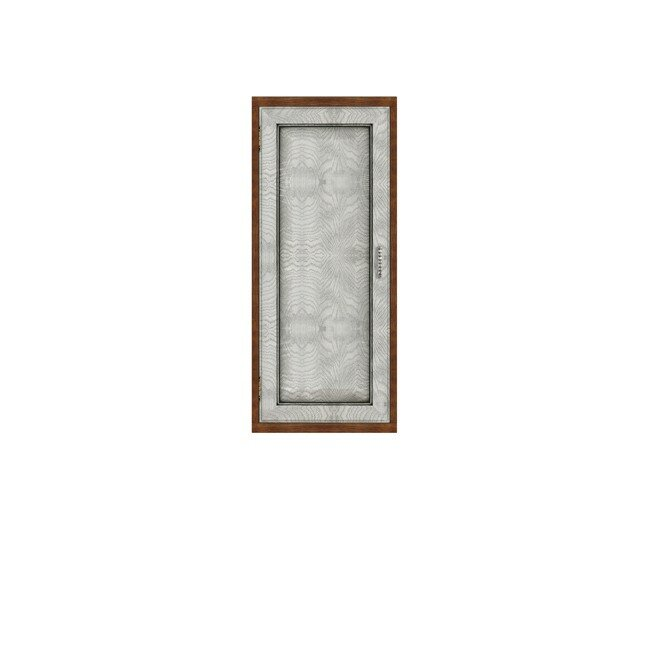 Диего, Полка вертикальная, СВ-364Дуб белый<br>Вертикальная полка из шпона ясеня и дуба. Задняя стенка в цвете: ясень беленый.<br>