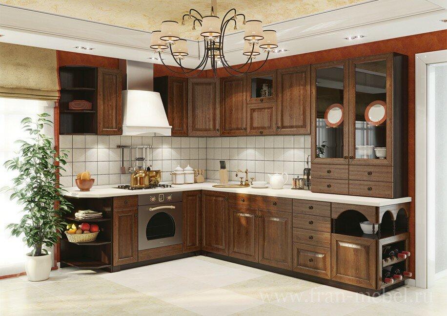 Кухонная система ЮлияДуб мореный<br>Новая система с фасадами из массива дуба мореного, ручной работы. При изготовлении кухни используются лучшие породы натурального дерева. Именно поэтому каждый фасад обладает неповторимой текстурой, что придает кухне безупречный вид. Рамка каждого фасада выполняется из массива дуба, вставка из МДФ с натуральным шпоном дуба.<br>Гарнитуры «Юлия» экологичны и имеют долгий срок службы. Корпуса изготавливаются из австрийской ЛДСП в цвете орех. Благодаря большому выбору элементов можно собрать гарнитур как для маленькой, так и для самой большой кухни.<br>Ручки продаются отдельно в разделе «Дополнительные элементы»!<br>