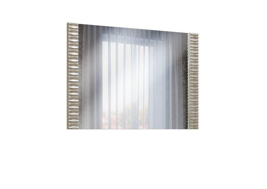 Тиффани, Зеркало, СВ-514Дуб аутентик<br>Зеркало длиной 85 сантиметров с декоративным профилем из МДФ.<br>