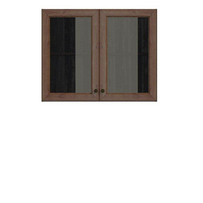 Кухня Юлия (Мария), Витрина, Г-90/72 Дуб мореныйДуб мореный<br><br><br>Скидка: 30%