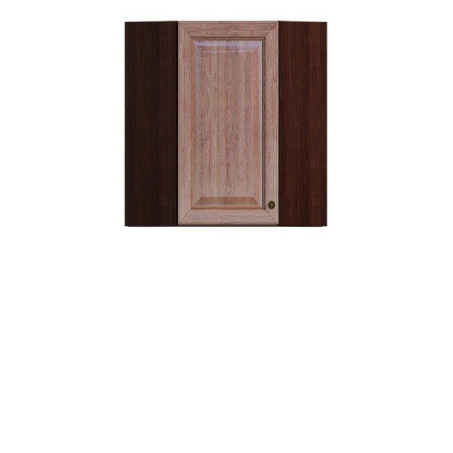 Кухня Юлия (Мария), Полка угловая, ГУ-60/72 Дуб мореныйДуб мореный<br><br><br>Скидка: 30%