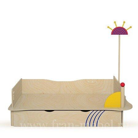 Лайма, Кровать с вешалкой, СВ-06