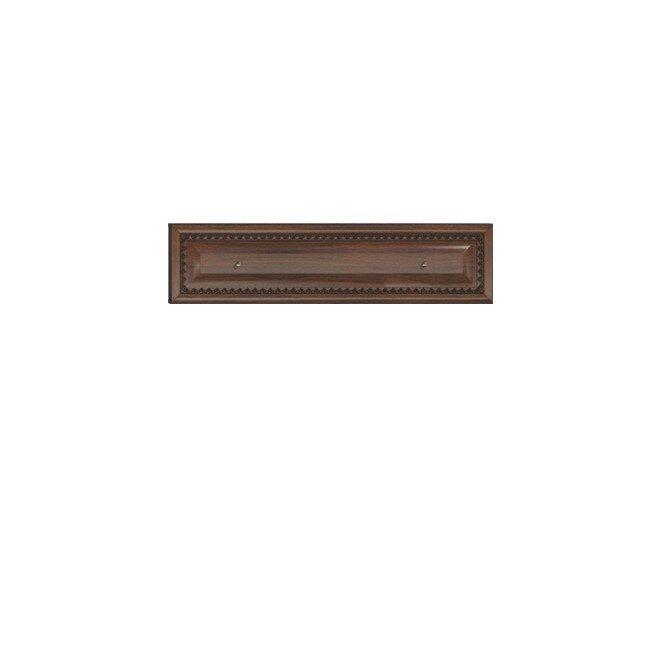 Гостиная Эльза (Классика), Полка СВ-428 Эльза (Классика) орехОрех темный<br>Отлично впишется в композицию, если разместить над тумбой СВ-426.<br><br>Цвет корпуса: Орех тёмный<br>Скидка: 30%
