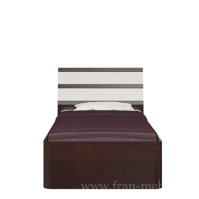 Оливер, Кровать, СВ-396Бук тирольский/песок<br>Удобная и большая кровать для молодежи. Особенностью данной модели являются закругленные углы. Ортопедическое основание входит в стоимость. Матрас продается отдельно.<br>