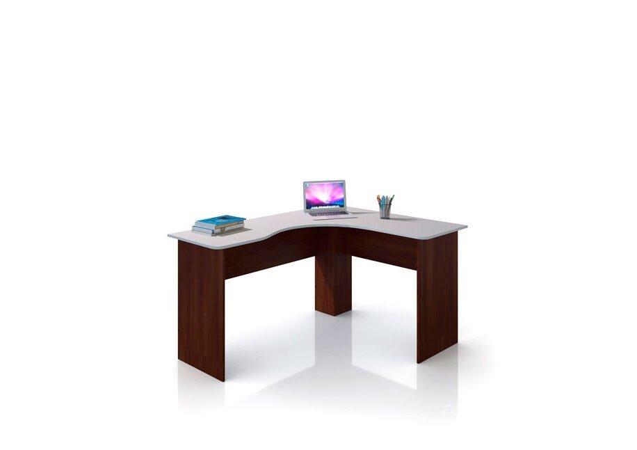 Оливер, Стол угловой левый, СВ-394Бук тирольский/песок<br>Удобный угловой стол. Может быть как письменным так и компьютерным. Для прочего удобства можно приобрести тумбу на колесиках СВ-395, которая идеально разместится под столом.<br>