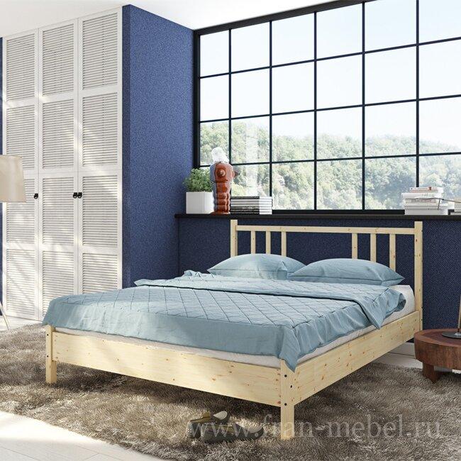 Кровать Карелия на 1600 мм от Fran-mebel