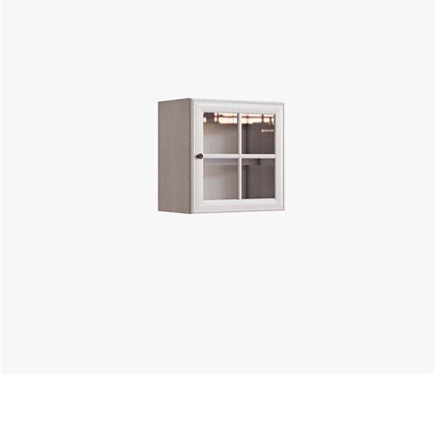 Гавана, Витрина, СВ-310Дуб беленый<br>Легкая и стильная витрина. При покупке нескольких витрин можно собрать различные комбинации, их можно расположить в ряд или поставить одну на другую. Двери с бесшумным и плавным закрытием.<br>
