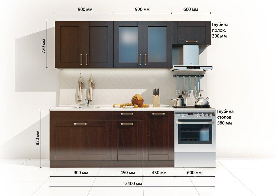 Кухня Катрин Шейкер 2400 (Лара)Бук тирольский/орех<br>Кухонный гарнитур длиной 2,4 м. Корпуса выполняются из австрийской ЛДСП в цвете бук Тирольский. Фасады из массива бука и покрашены в цвет орех. Металлические ручки под бронзу.<br>В гарнитуре есть все необходимое: большой стол под мойку, выдвижной ящик для хранения столовых приборов, витрина с матовым стеклом, полка над вытяжкой. Если вам необходимо приобрести дополнительные элементы, тогда заходите в раздел кухонные системы и выбирайте Катрин Шейкер.<br>В стоимость гарнитура входят столы и полки и ручки. Бытовая техника в стоимость не входит. Столешница, стеновая панель, мойки и сушки приобретаются отдельно в разделе Дополнительные элементы (в меню выше).<br><br>Скидка: 26%