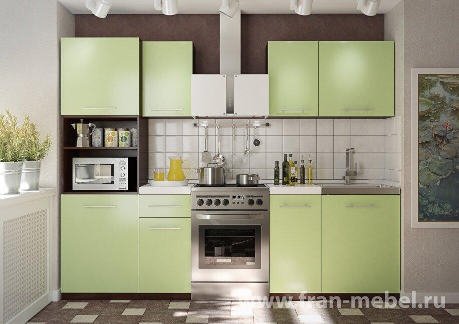 Кухня Арина 3 (Атлас)Ноче марино/салатовая<br>Стильный и практичный кухонный гарнитур длиной 2 метра. Основное достоинство — сочетание текстуры ноче марино и салатового оттенка. Пенал шириной 60 см  вмещает большое количество посуды и техники. Все модули независимы друг от друга и могут быть расставлены исходя из ваших потребностей. <br>Изготавливается из австрийской ЛДСП (Egger) в цвете корпуса — ноче марино, в цвете фасада — салатовый (матовый). <br>В комплект входят: пенал; три стола; три полки. <br>Дополнительно рекомендуется приобрести столешницу, мойку, стеновую панель, сушку, пристеночный профиль, кромку, стыковочные профиля.<br>Настоятельно рекомендуем не располагать мойку и духовку рядом друг с другом.<br>Глубина столов 450 мм.<br><br>Скидка: 50%