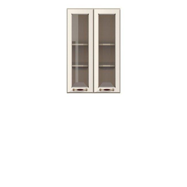Кухня Барбара Люкс (Дана), Витрина, Г-60/92 Слоновая кость Кухня Дана Барбара Люкс Слон.костьСлоновая кость (патина)<br><br><br>Скидка: 30%