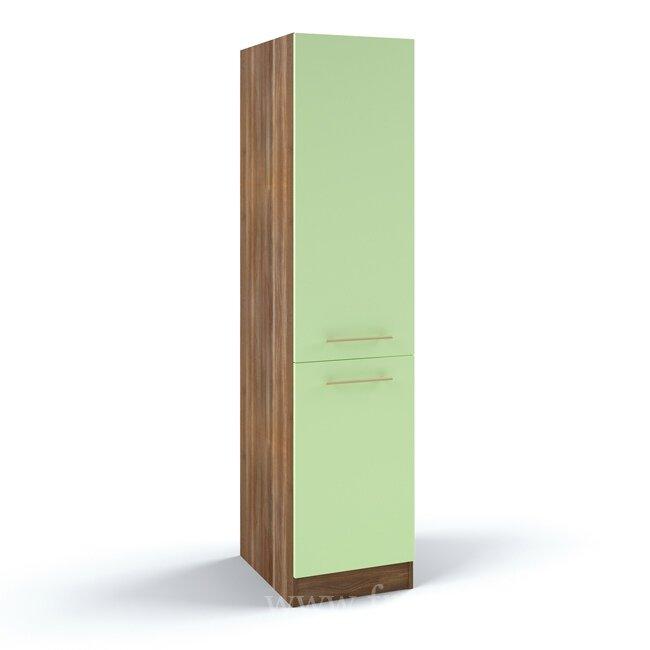 Кухня Арина (Стиль), Пенал, К2-45/192 Ноче марино/СалатовыйНоче марино/салатовая<br>Пенал длиной 45 см. Отличное решение для хранения посуды и другой кухонной утвари.<br><br>Цвет корпуса: Ноче марино<br>Цвет фасада: Салатовый<br>Скидка: 54%