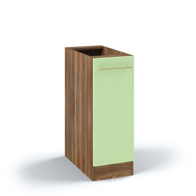 Кухня Арина (Стиль), Стол, С1-30/82 Ноче марино/СалатовыйНоче марино/салатовая<br>Самый маленький стол из этой серии, его длина 30 см. Внутри одна горизонтальная полка.<br><br>Цвет корпуса: Ноче марино<br>Цвет фасада: Салатовый<br>Скидка: 50%