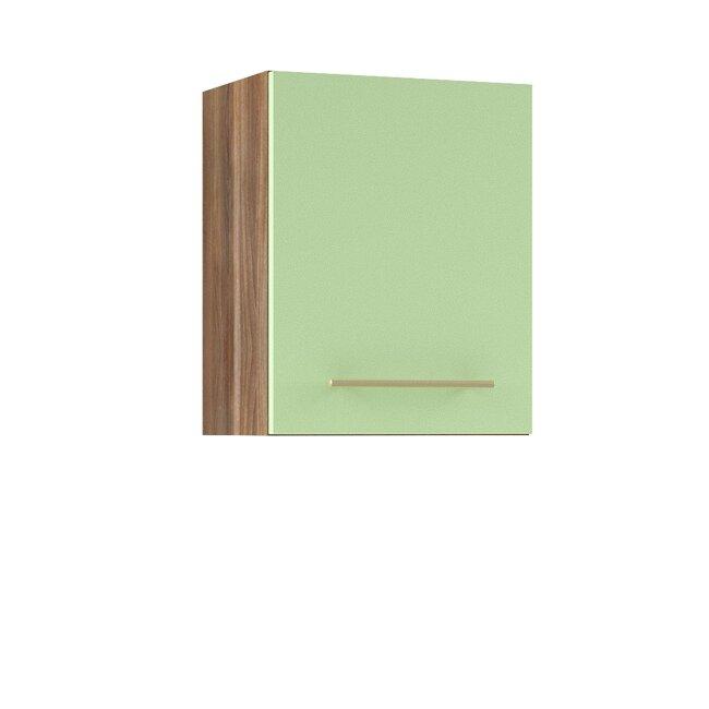 Кухня Арина (Стиль), Полка, Г-40/50 Ноче марино/СалатовыйНоче марино/салатовая<br>Полка длиной 40 см.<br><br>Цвет корпуса: Ноче марино<br>Цвет фасада: Салатовый<br>Скидка: 50%