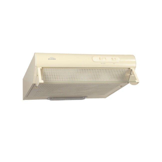 Кухонные вытяжки, Воздухоочиститель Davoline на 600 КремКухонные вытяжки<br>Вытяжка DAVOLINE - пример отличного сочетания цена-качество. DAVOLINE - это классический дизайн, свободная установка под кухонный шкафчик или просто к стене, надежный итальянский двигатель, комплектация переходником для гофротрубы. Для работы кухонной вытяжки в режиме рециркуляции можно использовать комплект угольных фильтров Ф-03, который продается в комплекте с вытяжкой.<br><br>Скидка: None