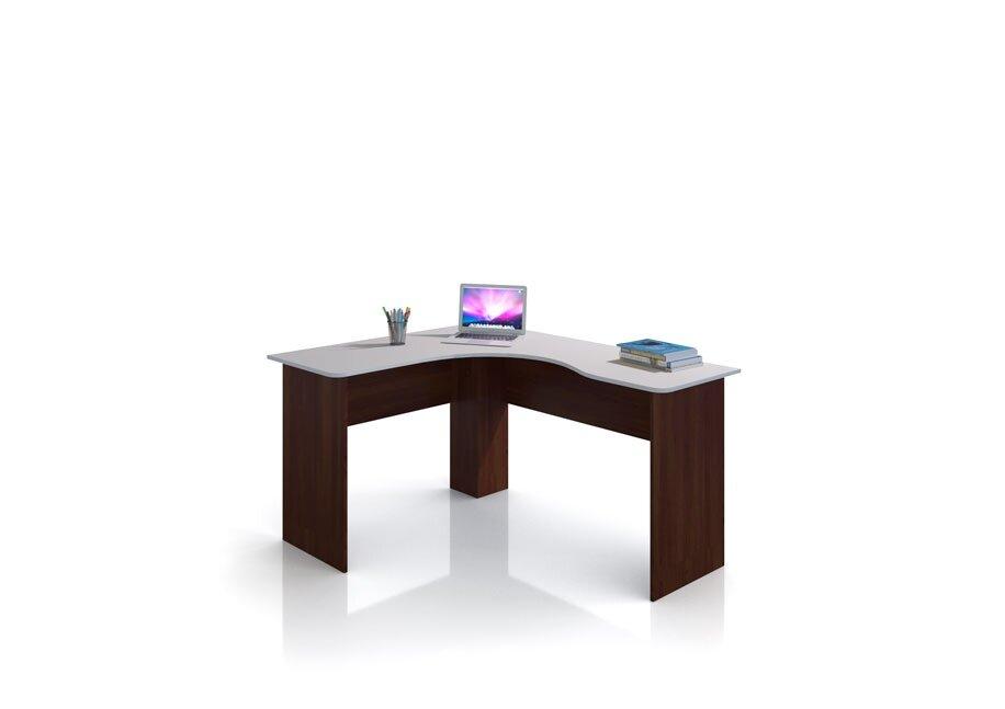 Оливер, Стол угловой правый, СВ-394Бук тирольский/песок<br>Удобный угловой стол. Может быть как письменным так и компьютерным. Для прочего удобства можно приобрести тумбу на колесиках СВ-395, которая идеально разместится под столом.<br>