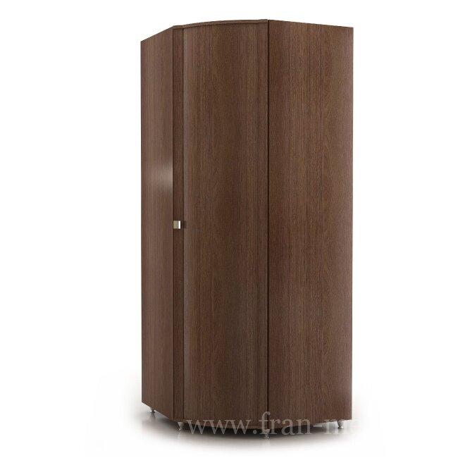 Сицилия, Шкаф угловой, СШ-3Ясень шимо темный<br>Большой и вместительный угловой шкаф. Ширина бока: 520 мм. Оснащен штангой для вешалок.<br>