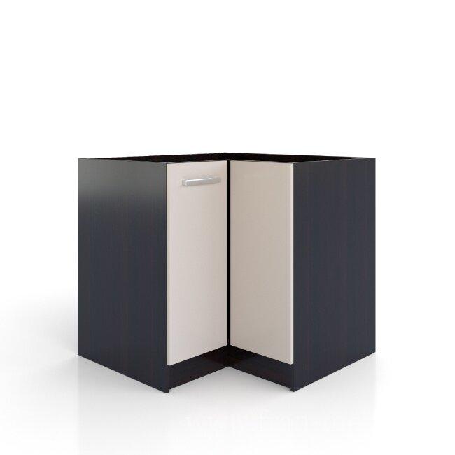 Арина, Стол угловой, СУ-88/82Дуб феррара/бежевый песок<br>Универсальный угловой стол. Внутри большое отделение для хранения бытовой химии или мусорного ведра. На данный стол очень часто монтируют врезную мойку. Глубина бока данного стола: 580 мм.<br>