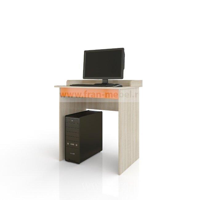 Жили-были, Стол письменныйДуб сонома/оранжевый<br>Письменный стол с удобным бортиком, чтобы ничего не упало. Под столешницей выдвижной ящик для хранения карандашей, ручек и тетрадок.<br>