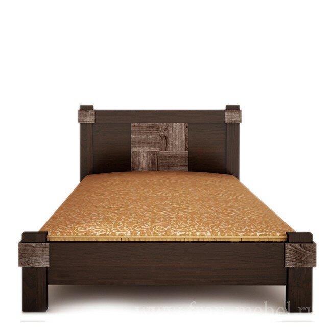 Магнолия, Кровать, СВ-20Канадский орех<br>Ортопедическое основание входит в стоимость.<br>