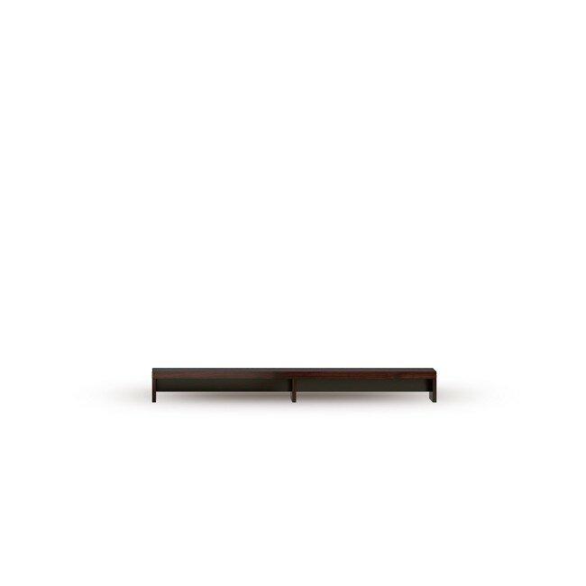 Гостиная Гавана (Лофт), Надставка на тумбу СВ-317 Гавана (Лофт) шоколадГорький шоколад<br>Поможет разместить технику на тумбе.<br><br>Цвет корпуса: Горький шоколад<br>Скидка: 30%