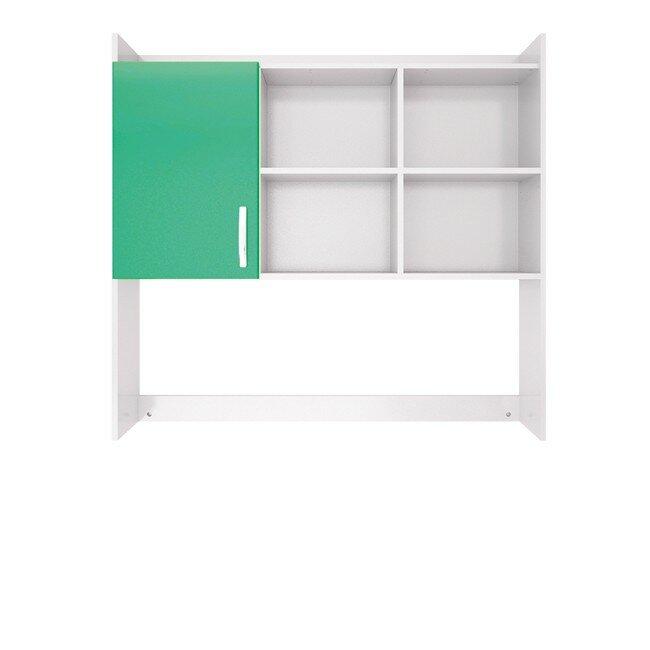 Детская Ниагара (Прованс), Надстройка для стола СВ-354 Ниагара (Прованс) зелёныйДля всех<br><br><br>Цвет корпуса: Белый<br>Цвет фасада: Зелёный<br>Скидка: 28%