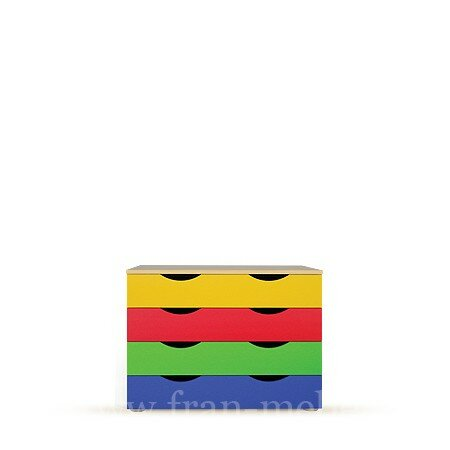 Детская Лайма (Фея), Комод СВ-02 Лайма (Фея) берёзаБереза<br><br><br>Цвет корпуса: Береза<br>Скидка: 28%
