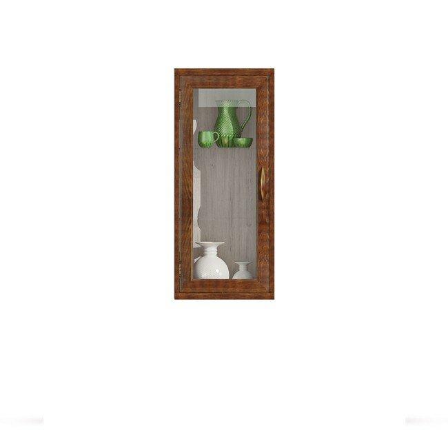 Гостиная Диего (Барокко), Витрина вертикальная СВ-364В Диего (Барокко) ясень