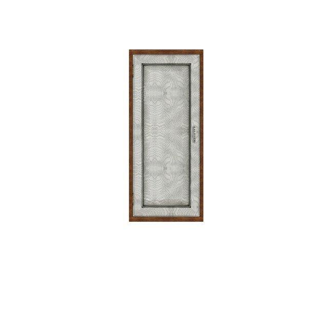 Гостиная Диего (Барокко), Полка вертикальная СВ-364 Диего (Барокко) белый