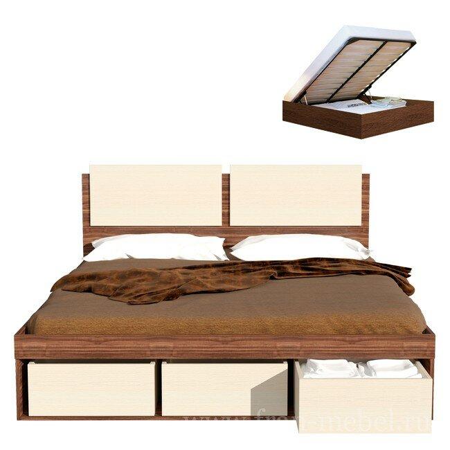 Спальня Арт-Сити (Карина), Кровать СВ-66 Арт-Сити (Карина)