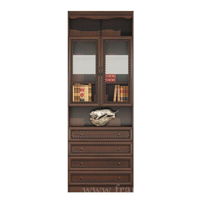 Гостиная Эльза (Классика), Витрина с ящиками СВ-422 Эльза (Классика) орех