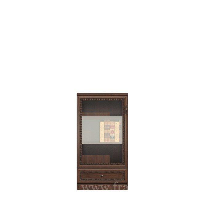 Гостиная Эльза (Классика), Комод-витрина СВ-432 Эльза (Классика) орех