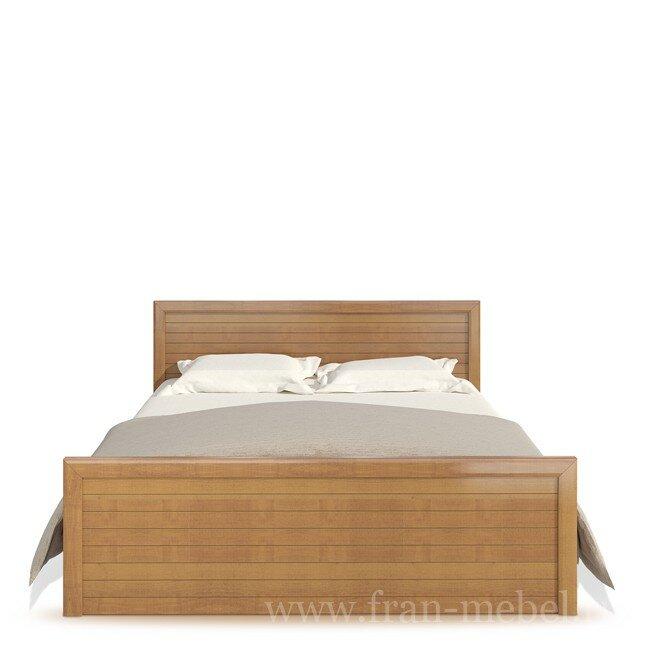 Спальня Эстель (Прованс), Кровать СВ-417 Эстель (Прованс) орех