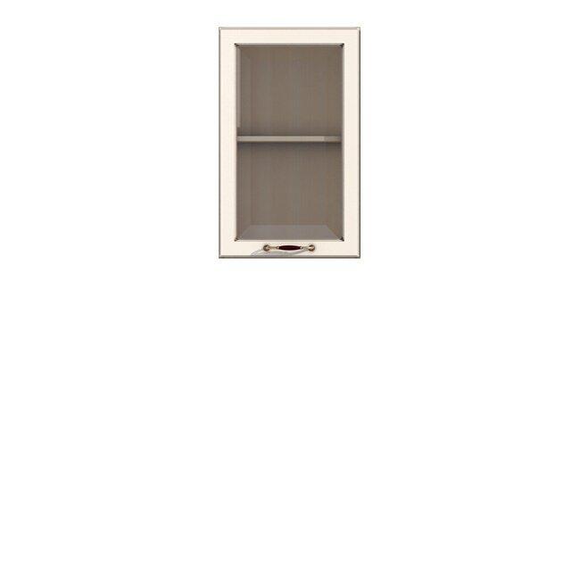 Кухня Барбара Люкс (Дана), Витрина, Г-50/72 Слоновая кость Кухня Дана Барбара Люкс Слон.кость