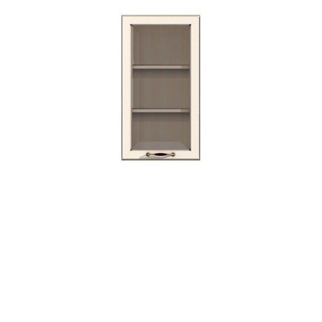 Кухня Барбара Люкс (Дана), Витрина, Г-50/92 Слоновая кость Кухня Дана Барбара Люкс Слон.кость