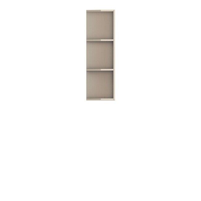Кухня Барбара Люкс (Дана), Стеллаж торцевой, ГТ-30/92 Слоновая кость