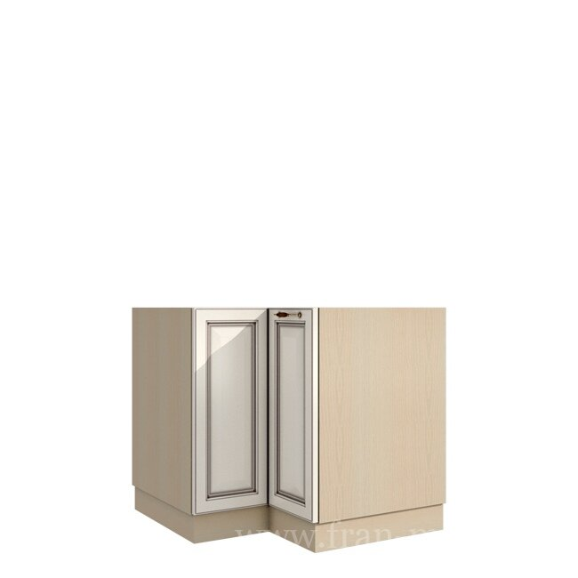 Кухня Барбара Люкс (Дана), Стол угловой универсальный, СУ-88/82 Слоновая кость ФРАН