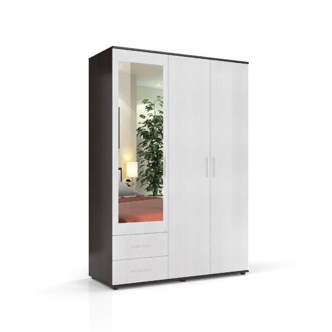 Спальня Милена (Джоконда), Шкаф СВ-476 Милена (Джоконда) венге/крем от Fran-mebel
