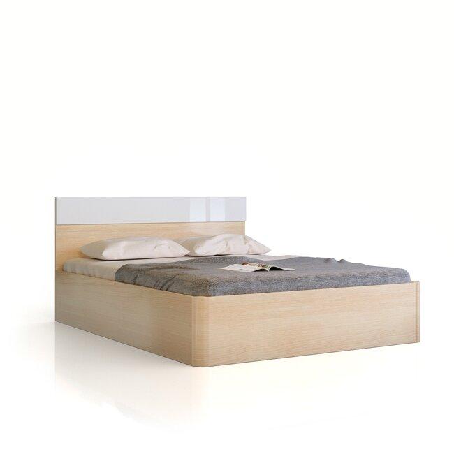 Спальня Николь (Ирис), Кровать СВ-540 Николь (Ирис) кремона/белый ФРАН Отличная кровать с закругленными торцами, которые придают элегантности и помогают избегать различных травм. Оригинальная глянцевая вставка в изголовье. Основание кровати уже входит в указанную стоимость.