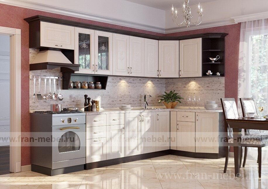 Кухня Беларусь 3 (Сергия) угловая левая