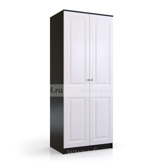 Спальня Сибирь (Ольга), Шкаф 2-х дверный Е218М Сибирь (Ольга) венге/дуб от Fran-mebel