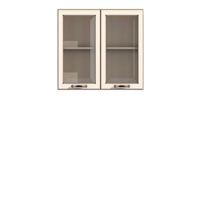 Кухня Барбара Люкс (Дана), Витрина, Г-90/72 Слоновая кость ФРАН