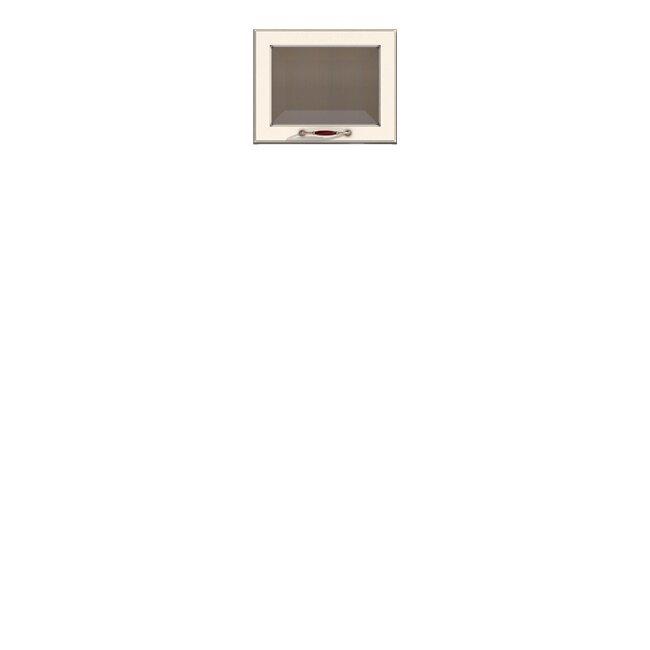 Кухня Барбара Люкс (Дана), Витрина, ГМ-45/36 Слоновая кость