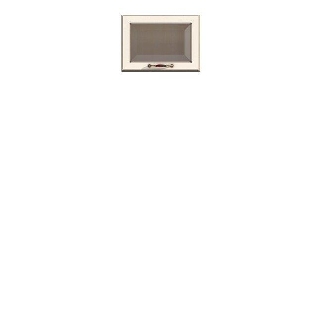 Кухня Барбара Люкс (Дана), Витрина, ГМ-50/36 Слоновая кость